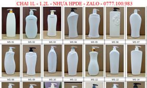 Chai sữa tắm 1.2L