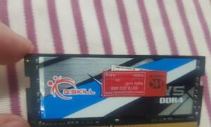 Ram Laptop zin tháo máy 16GB DDR4 G.Skill ripjaws, ram laptop bus 2666