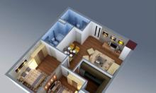 Chính chủ bán gấp căn hộ 71m2 chung cư CT3 Cổ Nhuế đầy đủ nội thất