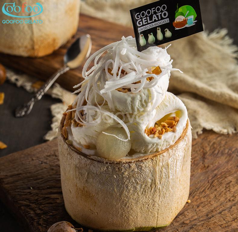 Tìm đại lí phân phối kem Ý Goofoo Gelato