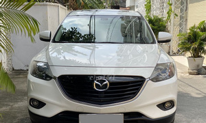 Gia đình cần bán Mazda CX9 tự động, 2014, màu trắng, bản full