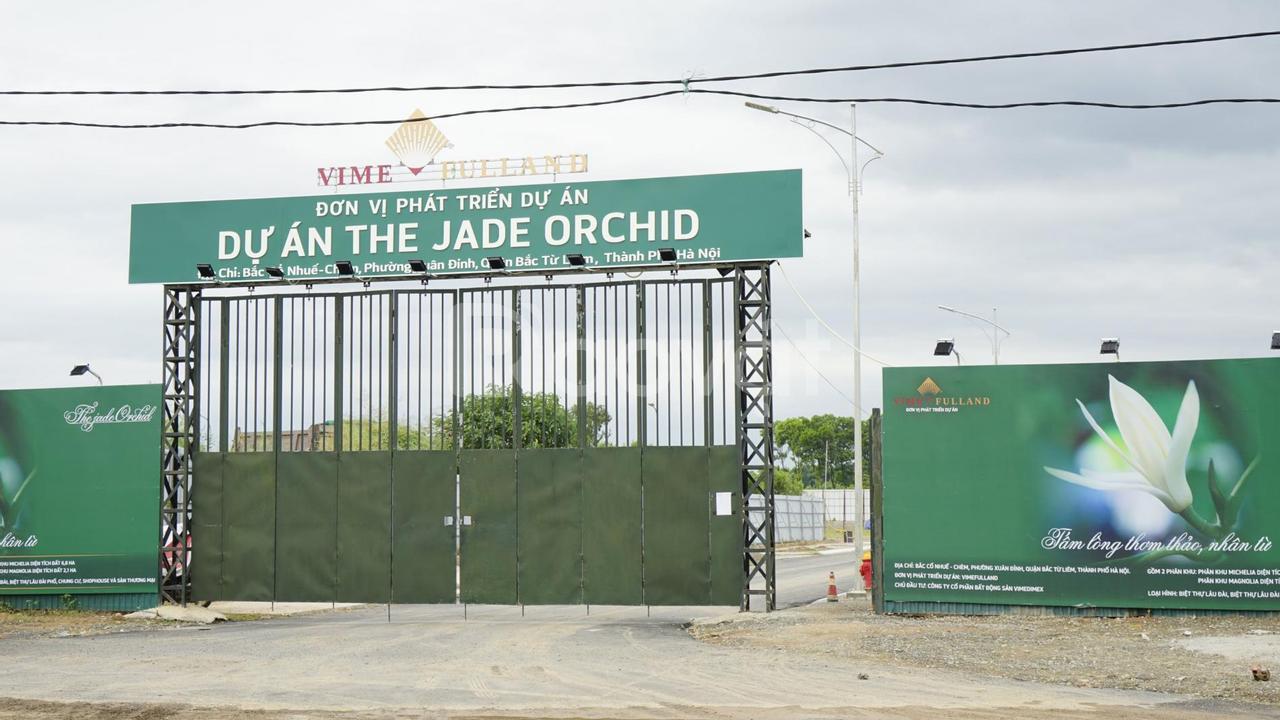 The Jade Orchid Cổ Nhuế, lâu đài phố phong cách hoàng gia độc đáo
