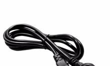 Dây nguồn tròn 3 chấu xịn dùng cho Adapter sạc laptop