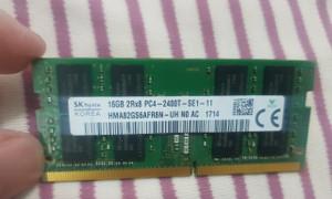 Ram Laptop zin tháo máy 16GB DDR4 Hynix, ram laptop PC4 - 2400T