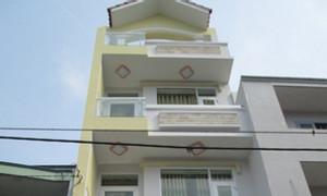 Bán nhà hẻm 485 Phan Văn Trị đối diện CityLand, 6x16m, 3 lầu