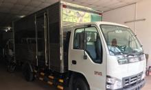 Isuzu 2T3 thùng kín 4m37 giao ngay, KM máy lạnh