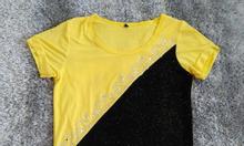 Thanh lý áo thun lưới màu vàng kim sa, áo trung niên