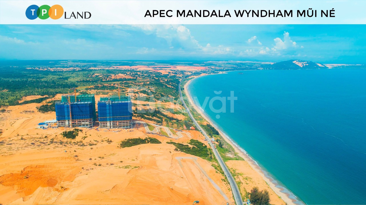 Apec Mandala Wyndham Mũi Né căn hộ nghỉ dưỡng 5 sao