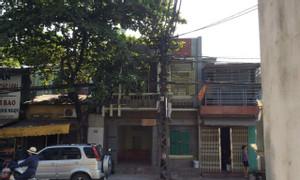 Cho thuê nhà 2 tầng mặt phố Lê Lợi TX Sơn Tây, gần BV, tiện KD, giá rẻ