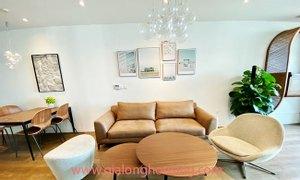 Cho thuê căn hộ 3 phòng ngủ mới đẹp Sun Ancora Lương Yên