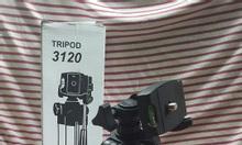 Chân giá đỡ Tripod 3120, giá đỡ điện thoại, remote