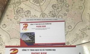 Thiết kế, in ấn phong bì giá rẻ, in số lượng ít tại Hà nội