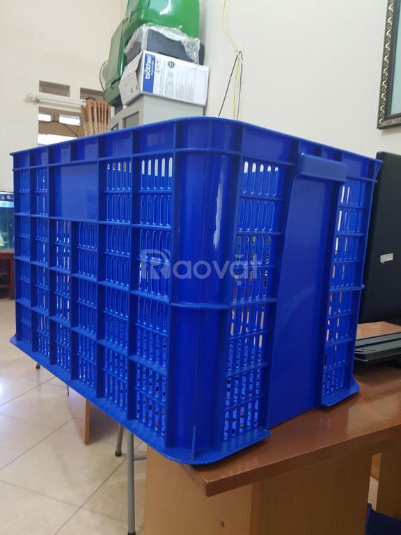 Thùng nhựa rỗng, sọt nhựa công nghiệp cao