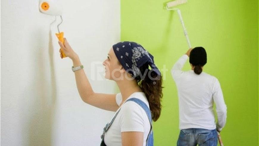 Thợ sơn nhà công nhật tại Hà Nội