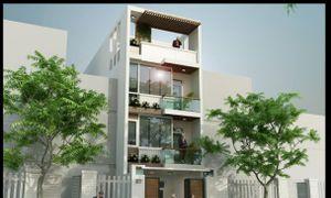 Bán nhà mặt phố Đỗ Quang, Nguyễn Thị Định 94m2, 5T, MT 7.52m