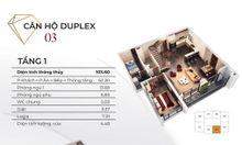 Duplex Diamond Goldmark City Căn 5PN, thông tầng 187m2