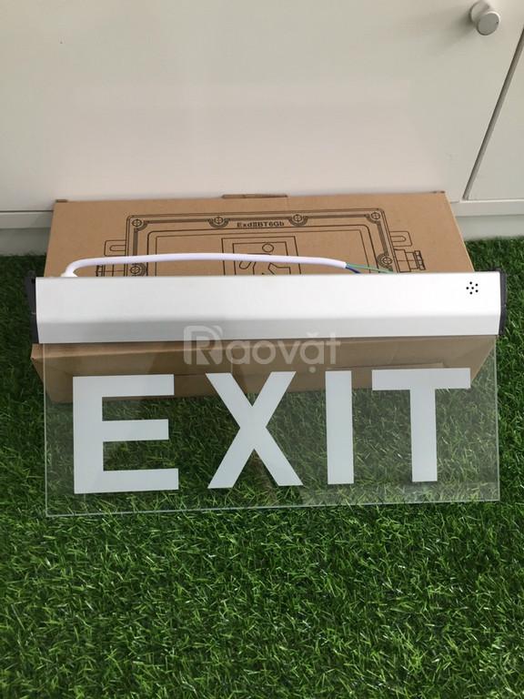 Đèn Exit thoát hiểm kính