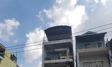 Bán gấp nhà mặt tiền đường Nơ Trang Long, BT, 4x20m, 3 lầu