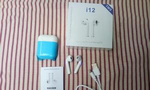 Tai nghe Bluetooth 5.0 I12 tws cảm ứng nhét tai không dây