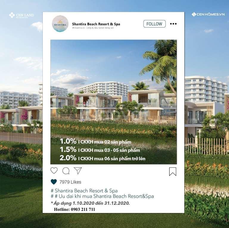 Thanh toán 620 triệu nhận căn hộ ng dưỡng thượng lưu Shantira Hội An