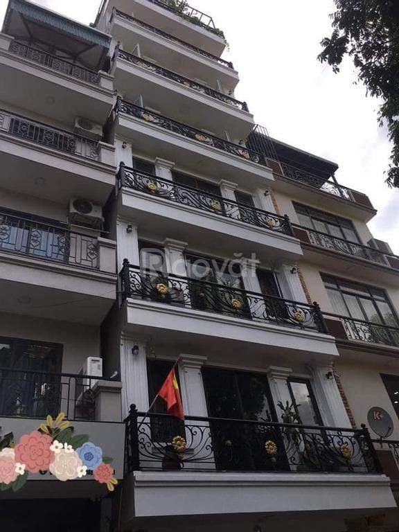 Phân lô khu 72 Hà Vĩnh Phúc 58 m2, 6 tầng