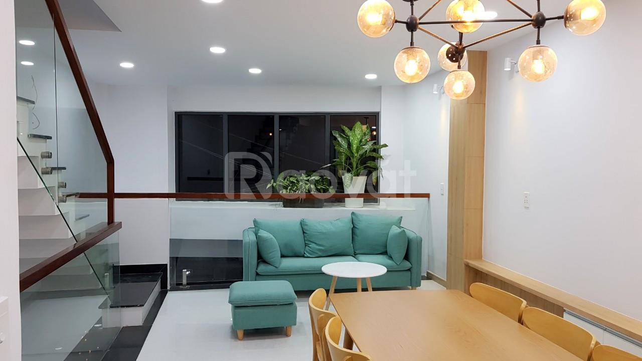 Bán nhà Gò Vấp mới xây 4 lầu đường Trần Bá Giao phường 5
