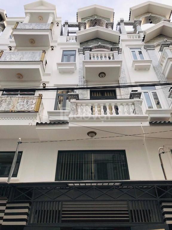 Bán nhà HXH Trần Bình Trọng, Bình Thạnh 4x13.2m, 52m2, 4 tầng