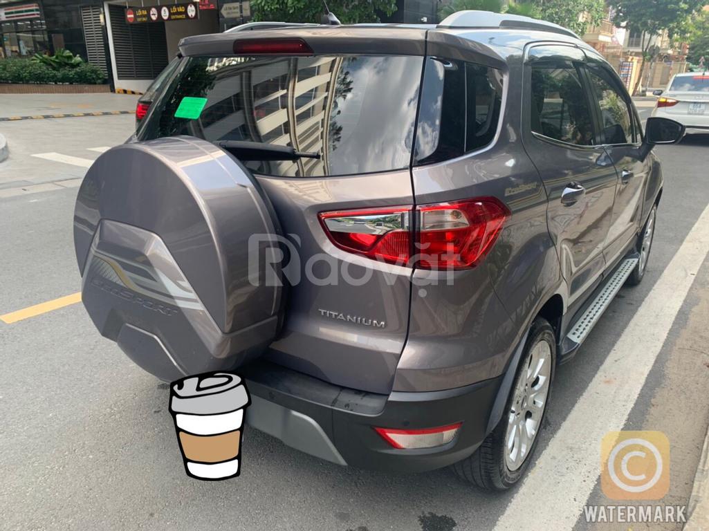 Xe lướt Ford Ecosport Titanium 1.5L 2019 đăng ký lần đầu 2020