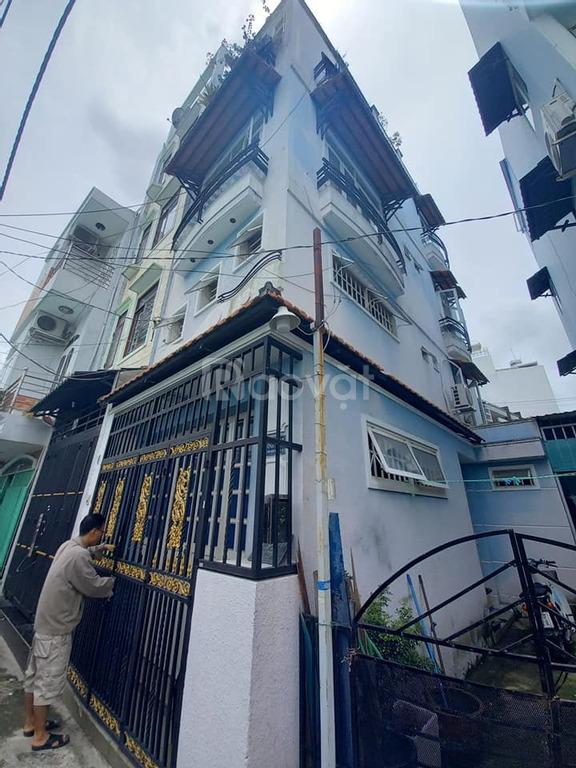 Chủ ngộp NH bán gấp nhà Quận 3, Trần Quang Diệu, 4x10, 4PN