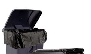 Túi nilon đựng rác màu đen size lớn, túi dẻo giá tốt