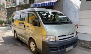 Bán Toyota Hiace xám 2008 số sàn máy dầu chạy kỹ