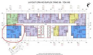 Bán gấp căn hộ Duplex 285m2, tòa W2, Vinhomes Westpoint