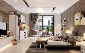 Chung cư cho thuê Vinhomes Skylake 1 PN tầng cao, view thoáng đãng
