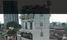 Bán nhà MP đường Bưởi lô góc, 38m2*4T thang máy