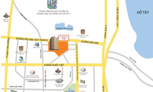 Bán căn hộ sổ đỏ 70m2 2PN, tòa CT2B chung cư Nghĩa Đô