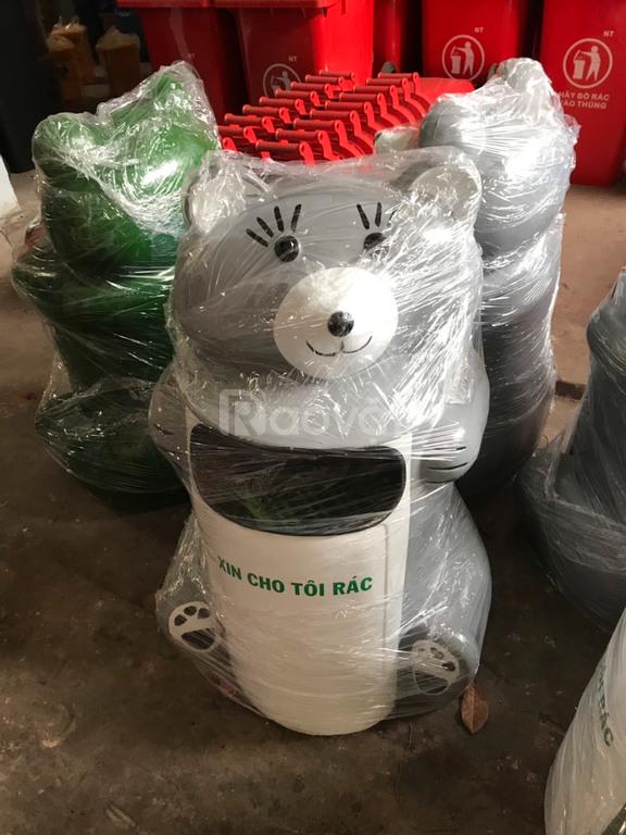 Thùng rác thú hình chuột túi
