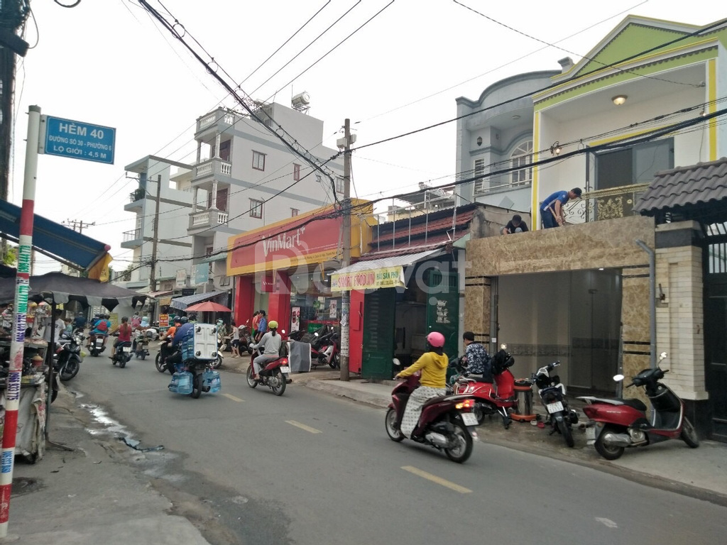 Cho thuê nhà NC mặt tiền đường gần BV Ung Bướu, DT 4x25m