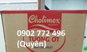 Tương ớt tương cà Cholimex gói nhỏ 10gr rẻ
