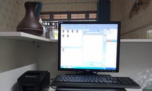 Setup bộ máy tính tiền giá rẻ cho kho hàng tại Hải Dương