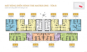 Cần bán căn hộ The Matrix One