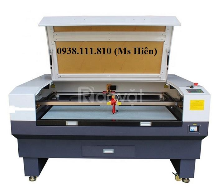 Máy laser 1610, 2 đầu cắt công suất 100w khuyến mại hấp dẫn