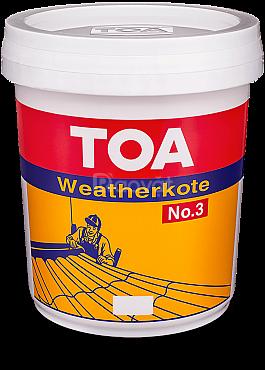 Nhà phân phối sơn chống thấm TOA Weatherkote No.3
