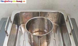 Bán nồi nấu lẩu inox vuông giá tốt tại Hà Nội