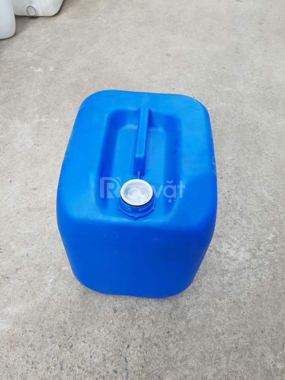 Can nhựa 30 lít, can hóa chất HDPE 30 lít, can nhựa dày hóa chất 30 lít