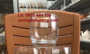 Xưởng sản xuất thủy tinh giá tốt tại Quảng Nam in logo