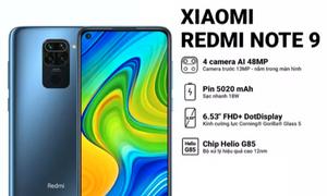Điện thoại Xiaomi Redmi Note 9 3GB/64GB