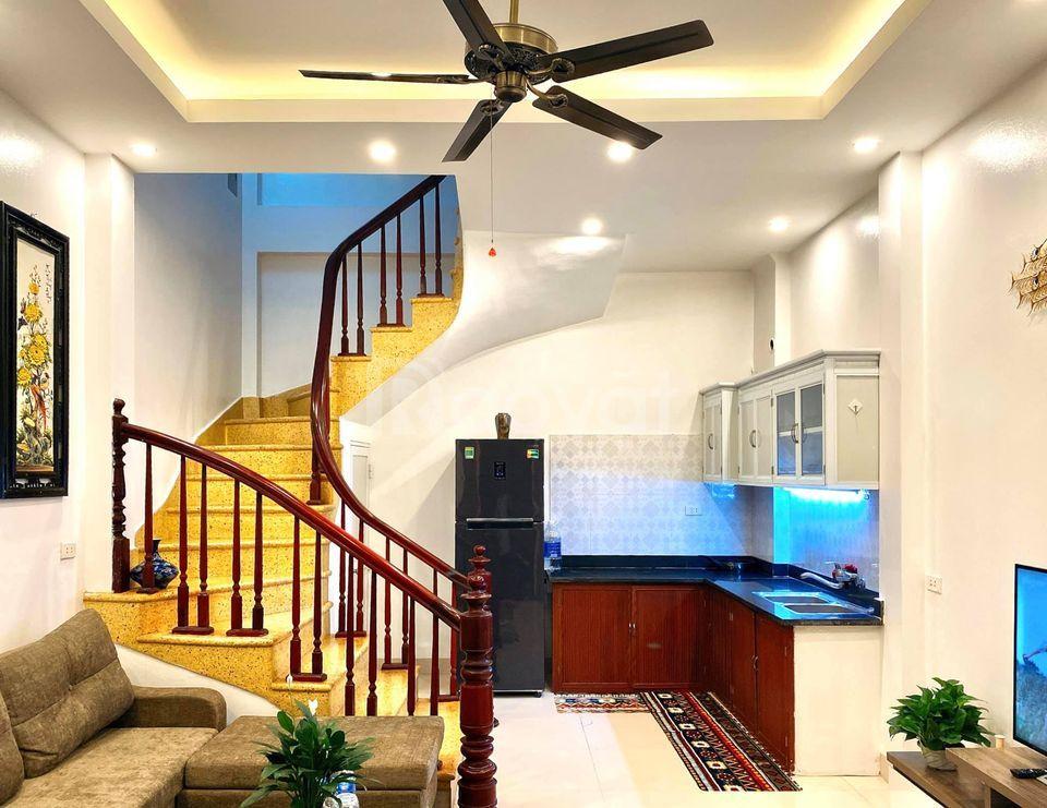 Bán nhà phố Nguyễn An Ninh, nhà mới đẹp, lô góc, ô tô đỗ cửa, full nội thất