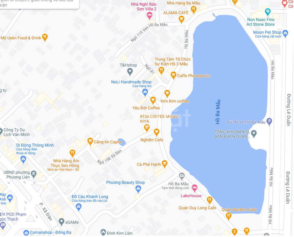 Chính chủ bán gấp mảnh đất 58m2 ngõ taxi, gần hồ Ba Mẫu, Đống Đa