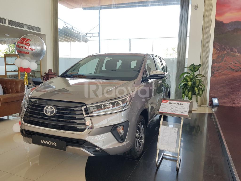 Toyota Innova 2021 giảm giá tốt, ưu đãi lãi suất thấp