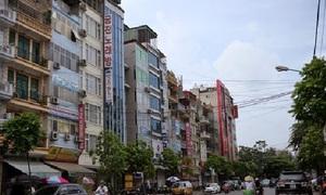 Bán nhà mặt phố Thái Thịnh 68m2, 6T, MT 6.9m, vỉa hè, kinh doanh